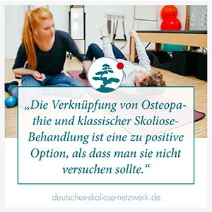 Osteopathie und Pilates